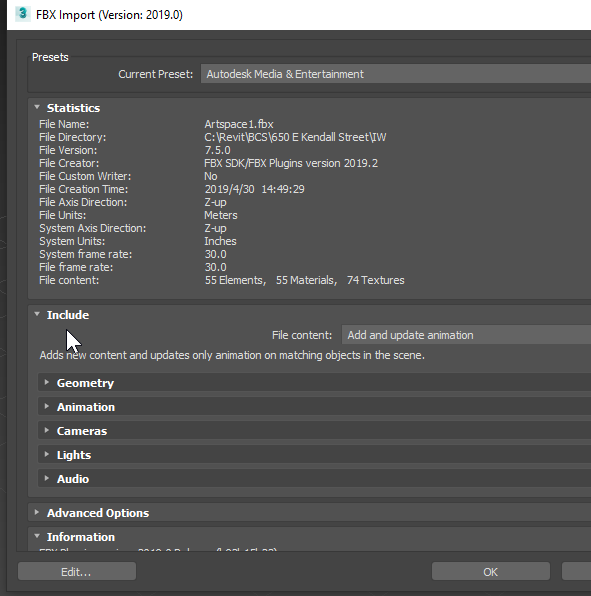 Getting Revit Background Building Massing From InfraWorks